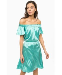 Patrizia Pepe | Бирюзовое Шелковое Платье