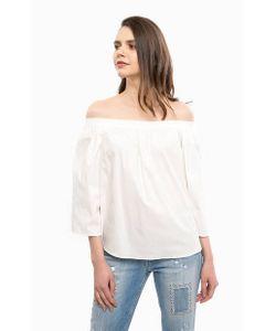 Liu •Jo   Хлопковая Блуза На Резинке
