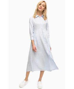 Pennyblack | Льняное Платье В Полоску С Длинными Рукавами И Карманами