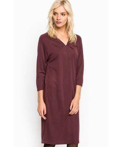 ICHI | Однотонное Платье Из Вискозы