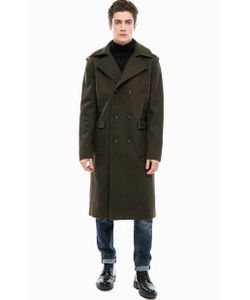Calvin Klein Jeans | Двубортное Пальто Цвета