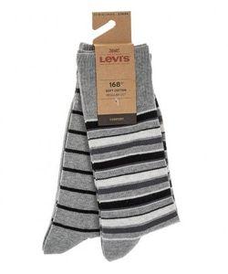 Levi's® | Комплект Из Двух Хлопковых Носков Серого Цвета