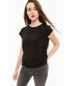 Mavi | Черная Блуза С Короткими Рукавами