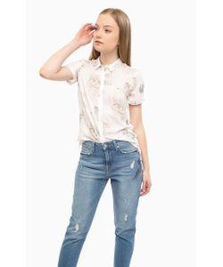 Mavi | Блуза Из Вискозы На Пуговицах
