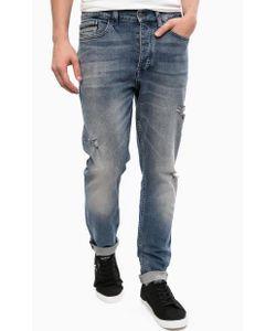 Calvin Klein Jeans | Зауженные Джинсы С Рваными Деталями