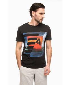 EA7 | Черная Футболка С Принтом