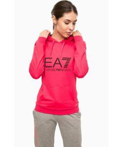 EA7 | Толстовка Цвета Фуксии С Логотипом Бренда