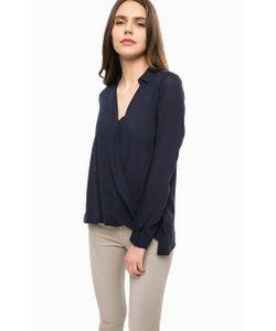 Alcott | Синяя Блуза Из Вискозы