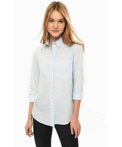 LERROS | Голубая Рубашка Из Хлопка Свободного Кроя