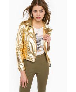Patrizia Pepe | Куртка Косуха Золотистого Цвета