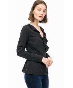 Vero Moda | Черная Блуза С Запахом