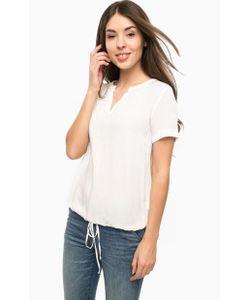 TOM TAILOR | Блуза Из Вискозы С Короткими Рукавами