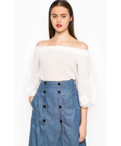 Miss Sixty | Блуза Оверсайз С Открытыми Плечами
