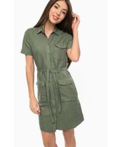 Mavi | Платье-Рубашка Цвета С Накладными Карманами