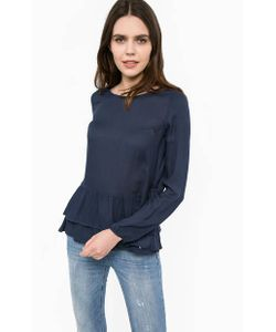 Liu •Jo Jeans | Синяя Блуза С Длинными Рукавами
