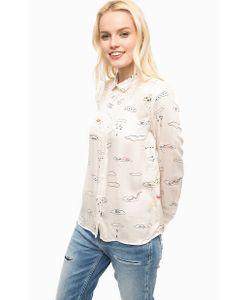 Paul & Joe Sister | Рубашка Из Вискозы С Закругленным Воротничком