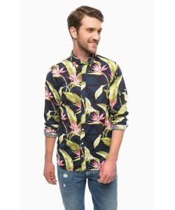 Tommy Hilfiger | Рубашка Из Хлопка И Льна С Цветочным Принтом