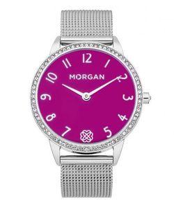 Morgan | Часы Круглой Формы Со Стальным Браслетом