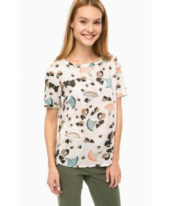 LERROS | Блуза Из Вискозы С Вырезом На Спине