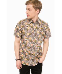 Blend | Рубашка С Короткими Рукавами И Цветочным Принтом