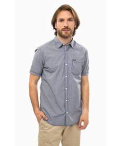s.Oliver | Хлопковая Рубашка С Короткими Рукавами