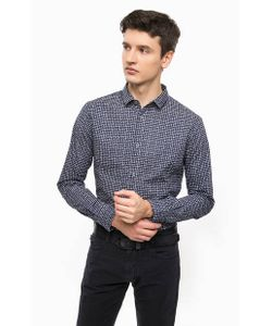 ARMANI JEANS | Приталенная Рубашка В Клетку