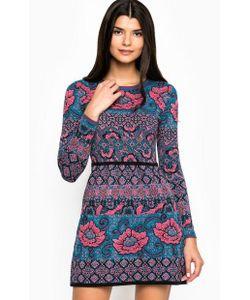 Juicy Couture | Короткое Хлопковое Платье С Цветочным Принтом