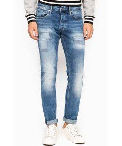 Pepe Jeans | Зауженные Джинсы С Заплатами