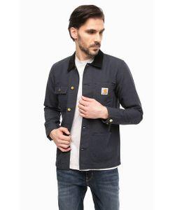 Carhartt WIP | Легкая Синяя Куртка С Застежкой На Болты