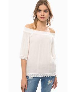 LERROS | Блуза Из Вискозы С Кружевной Отделкой