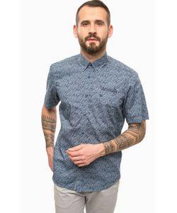 LERROS | Синяя Хлопкова Рубашка С Нагрудным Карманом
