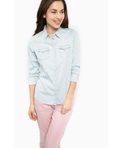 Wrangler | Приталенная Рубашка С Карманами Из Денима