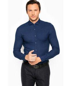 Liu Jo Uomo | Синяя Рубашка Из Хлопка На Пуговицах