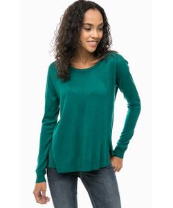 United Colors Of Benetton | Джемпер Зеленого Цвета