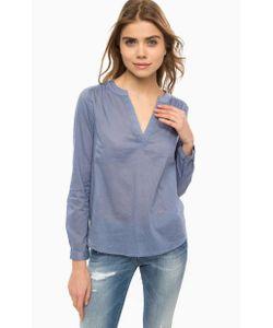 ICHI | Синяя Блуза С Длинными Рукавами