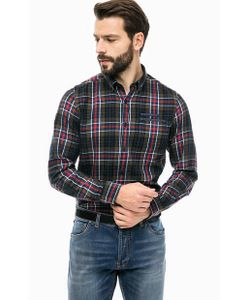 s.Oliver | Рубашка Из Хлопка В Клетку