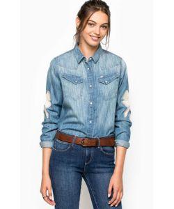 Wrangler | Приталенная Джинсовая Рубашка На Кнопках