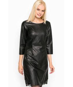 Silvian Heach   Черное Платье С Кружевными Вставками
