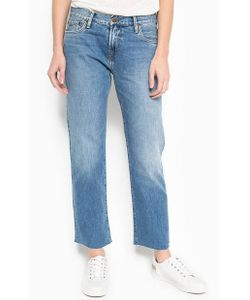Pepe Jeans London | Укороченные Джинсы Прямого Кроя