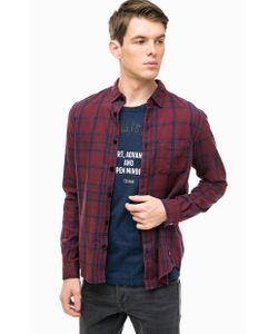 Tom Tailor Denim   Рубашка Из Хлопка В Клетку