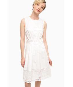 Tommy Hilfiger | Платье Из Хлопка С Ажурной Вставкой