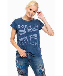 Pepe Jeans London | Синяя Хлопковая Футболка