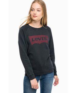 Levi's® | Хлопковый Свитшот С Принтом И Потертостями
