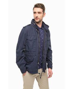 Denim & Supply Ralph Lauren | Синяя Куртка Из Хлопка Со Скрытым Капюшоном