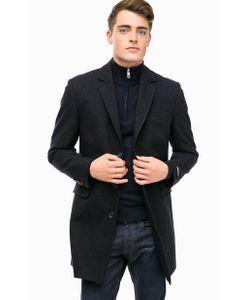 Lagerfeld | Классическое Пальто С Высоким Содержанием Шерсти