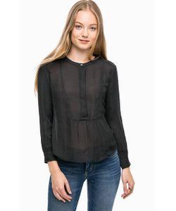Levi's®   Однотонная Блуза С Воротником На Пуговицах
