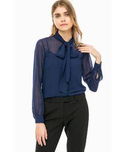Michael Michael Kors | Синяя Блуза На Пуговицах С Топом