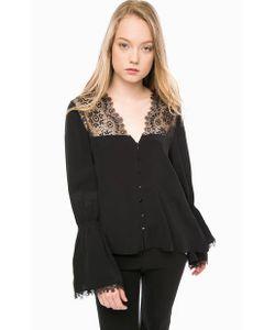 Pennyblack | Черная Блуза С Расклешенными Рукавами