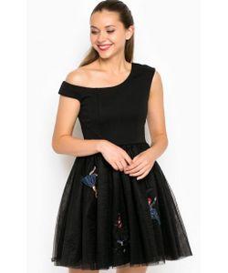 Miss Sixty | Короткое Пышное Платье На Одно Плечо