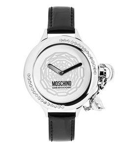 Moschino | Часы С Круглым Стальным Корпусом